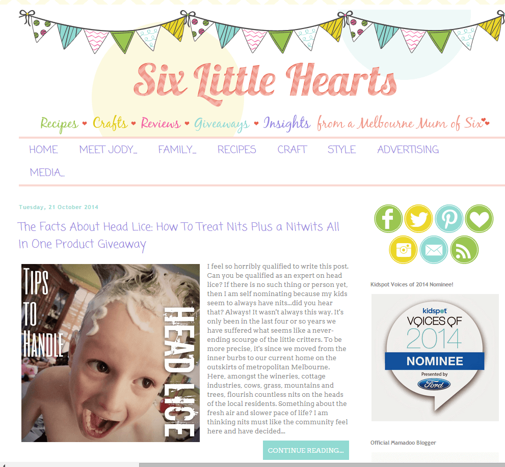 Six Little Hearts