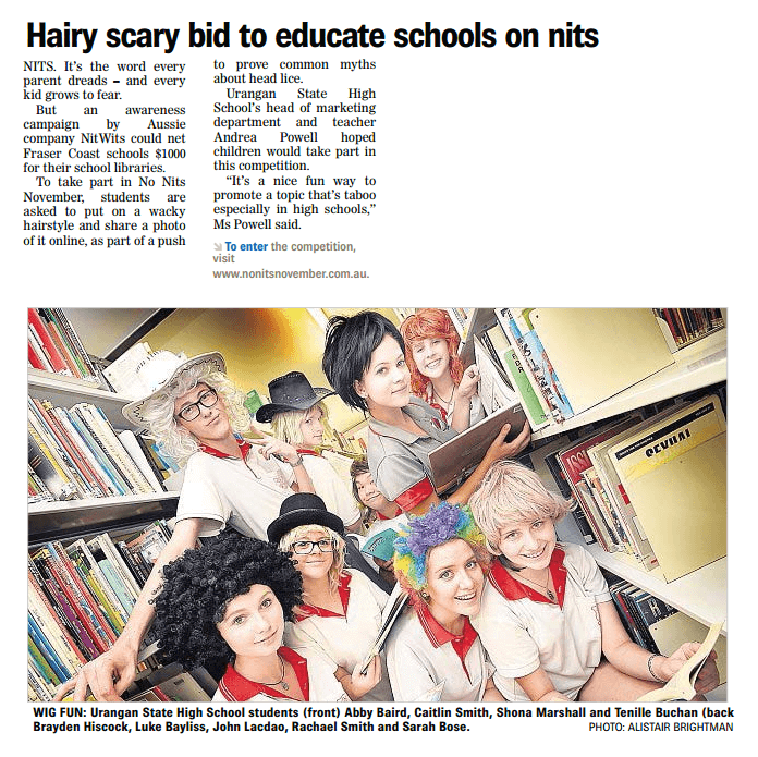 Hairy Scary Bid to Educate Schools